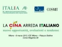 La Cina arreda Italiano