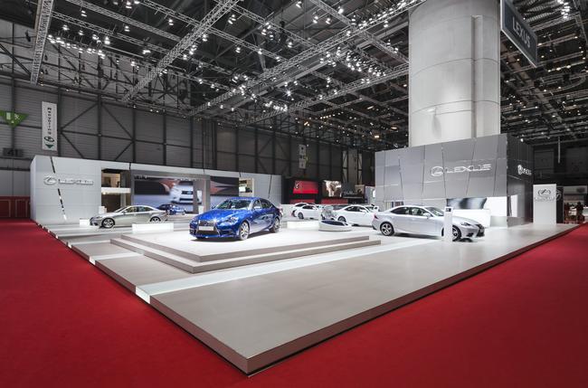 Lexus al Salone dell'Auto di Shanghai 2013