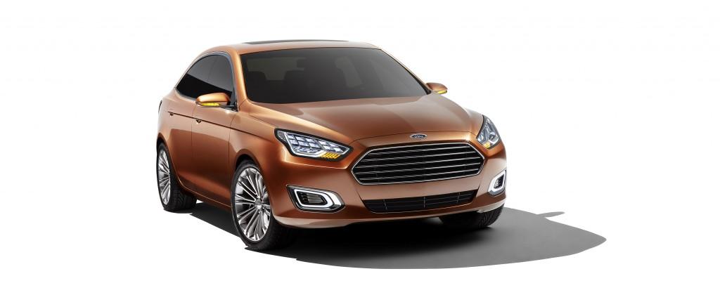 Al Salone di Shangai svelata la nuova Ford Escort Concept ...