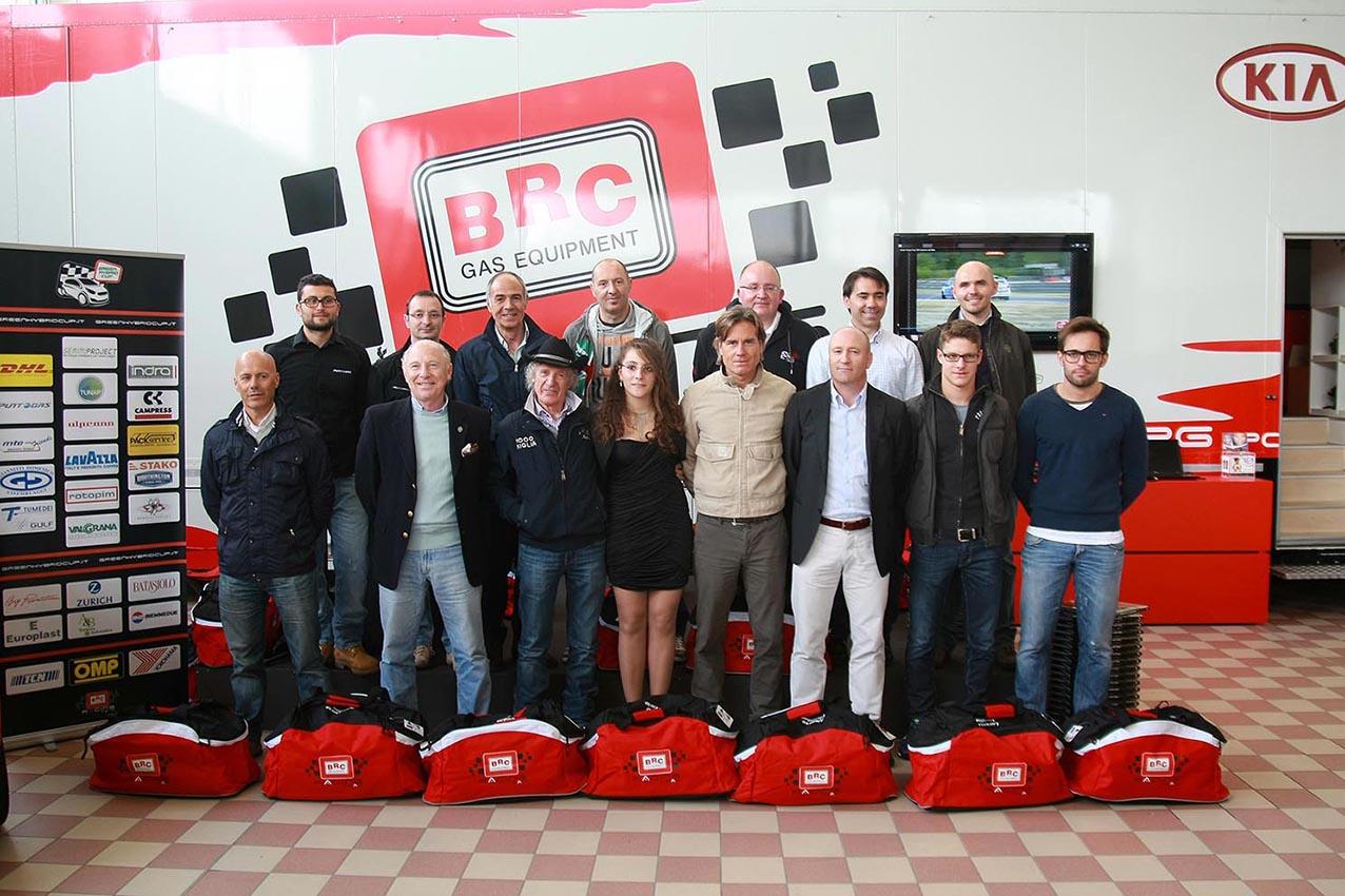 Presentato il Green Hybrid Cup 2013 - i piloti