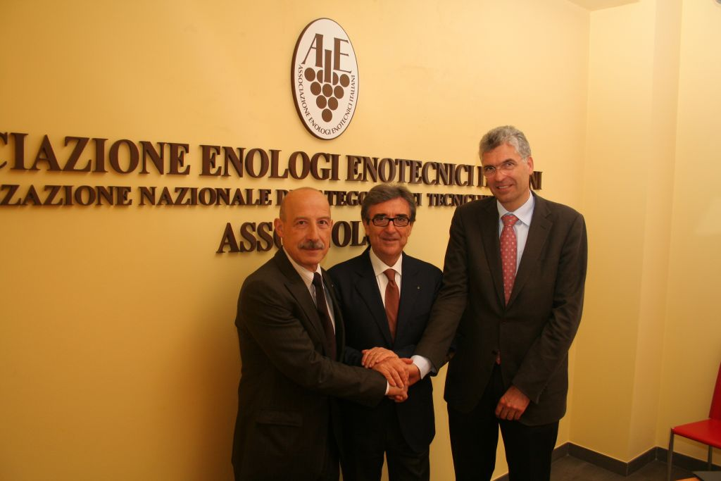 Presidente e vicepresidenti Assoenologi