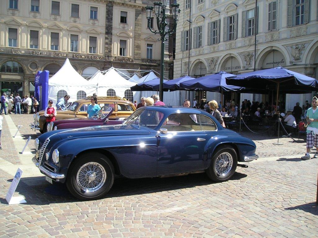 Alfa Romeo 6C Villa d'ESTE Touring best of the show a Torino 2010