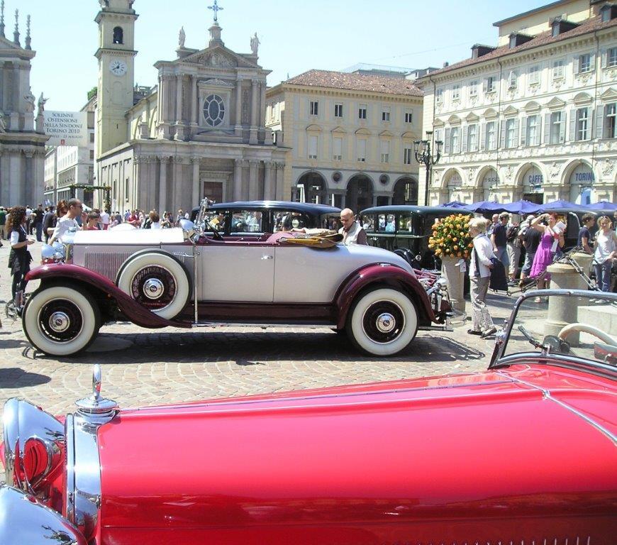 8° Concorso di Eleganza per auto d'epoca organizzato dall'ASI