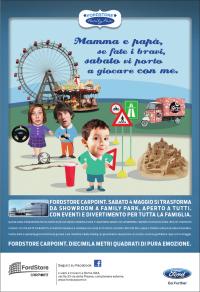 Iniziano a Roma i Ford Family Days: eventi e divertimento per tutta la famiglia