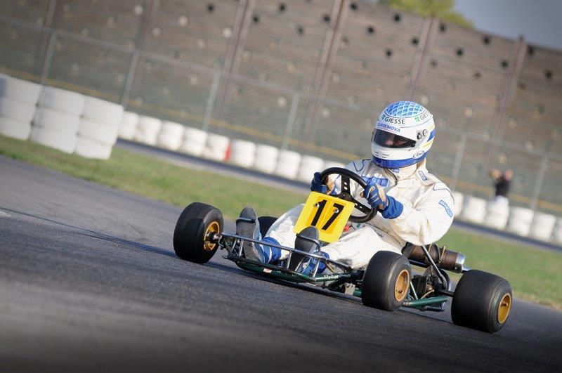 il kart di A.Senna