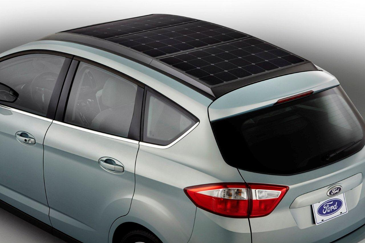 C-MAX Solar Energi, ibrido-elettrica a energia solare