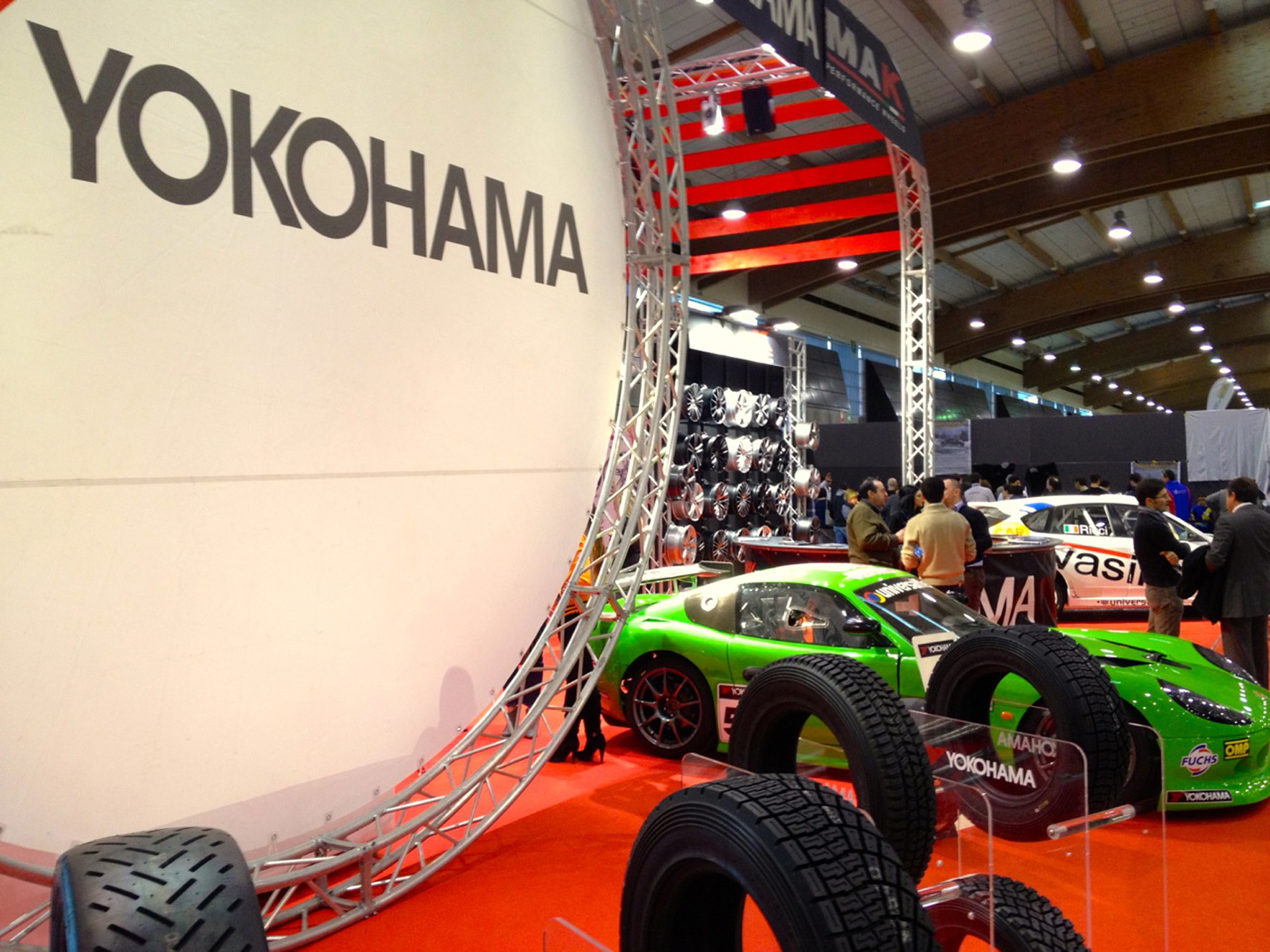MotorCircus stand 2013