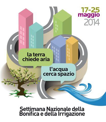 Logo Settimana Bonifica e Irrigazione 2014