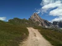 Paesaggio delle Dolomiti  (foto Et.Ras.)