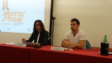 La conferenza stampa per la presentazione del Motor Show di Bologna 2014 tenuta a Bari lo scorso giugno