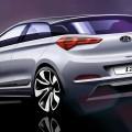 Rendering Nuova Generazione Hyundai i20_vista posteriore