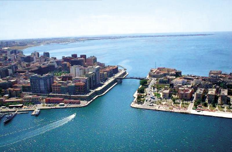 Taranto vista dall'alto