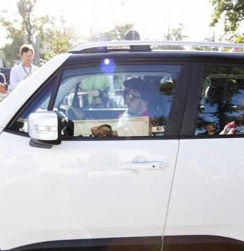 Fernando Alonso al volante