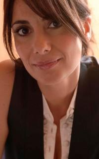 Italy, July 2005 - Paola Maugeri, Italian journalist and  tv hostess >< Italia, luglio 2005 - Paola Maugeri, giornalista e conduttrice televisiva