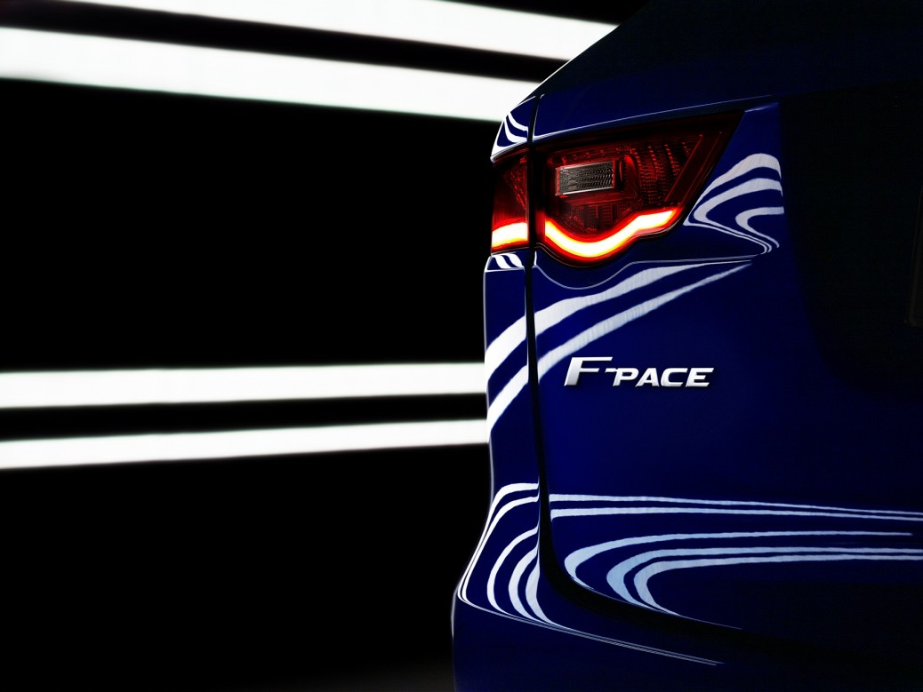 Jaguar F Pace Badge