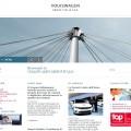 L'homepage del nuovo sito Volkswagen