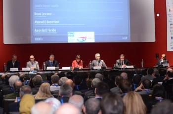 Giornata inaugurale dell'OMC: il tavolo dei relatori