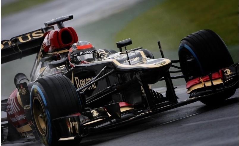 Lotus F1 Team E21 di Kimi Räikkönen