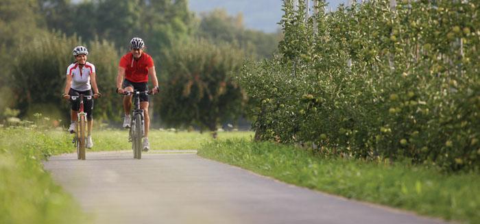 In bici a Merano