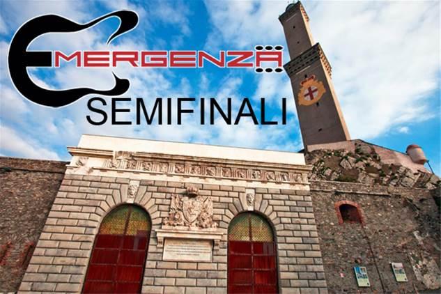 Emergenza Festival Genova semifinali