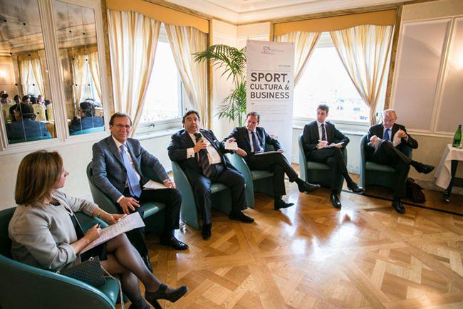 """Tavola rotonda dell'Istituto del Credito Sportivo dal titolo """"Sport, cultura & business"""""""