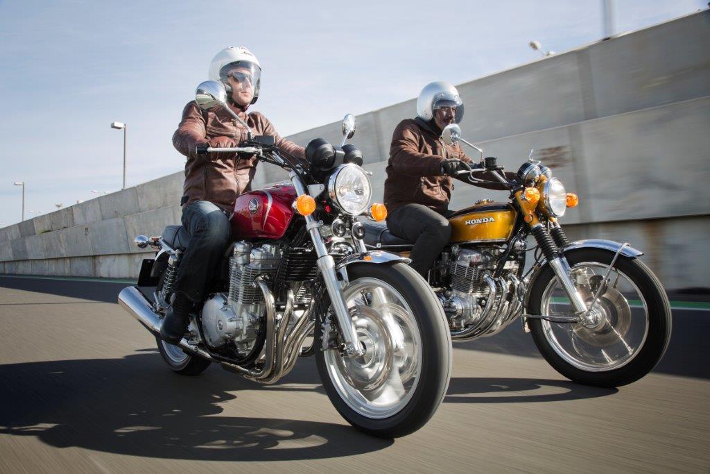Honda CB 110 e Honda CB 750