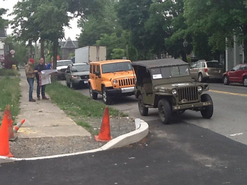 La Jeep Willys MB prodotta nello stabilimento di Toledo (Ohio)