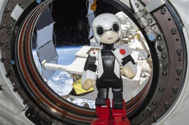 Kirobo, il primo robot astronauta a parlare nello spazio